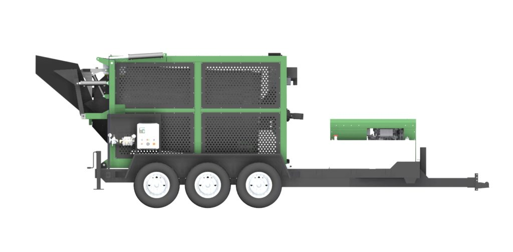 RENOVA Asphalt Recycler Side